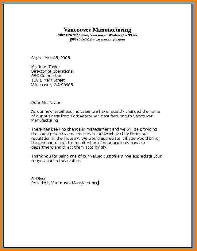 28 personal business letter template personal business letter format 7 free