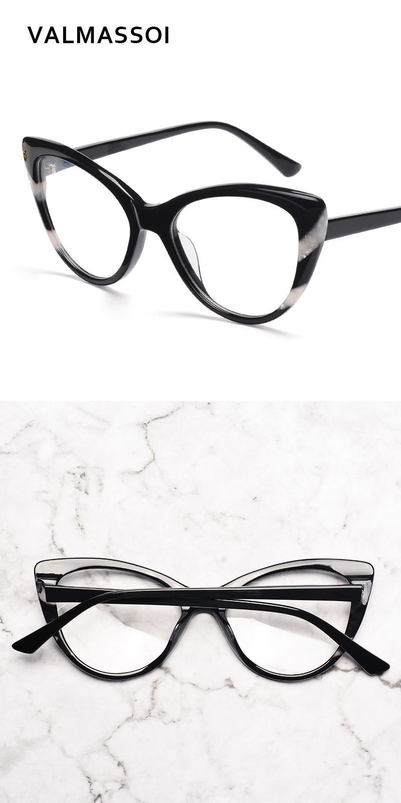 ad7ad91e4827 Acetate women eyewear frames fashion optical designer myopia brand clear eyeglass  frames  11814b  frames  eyewear  accessories  women  acetate  print