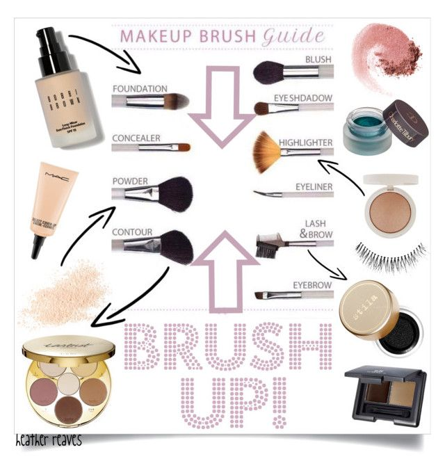 """""""Brush Up!"""" by heather-reaves ❤ liked on Polyvore featuring beauty, Bobbi Brown Cosmetics, MAC Cosmetics, Eve Lom, tarte, NARS Cosmetics, Charlotte Tilbury, Topshop, Stila and e.l.f."""