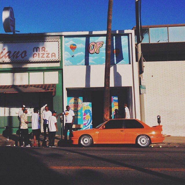 Frank Ocean Orange Bmw