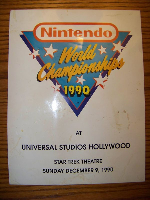 NWC, Nintendo World Championships, Nintendo
