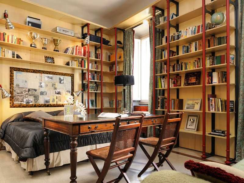 Library Bedroom Design Home Ideas Decor Gallery My