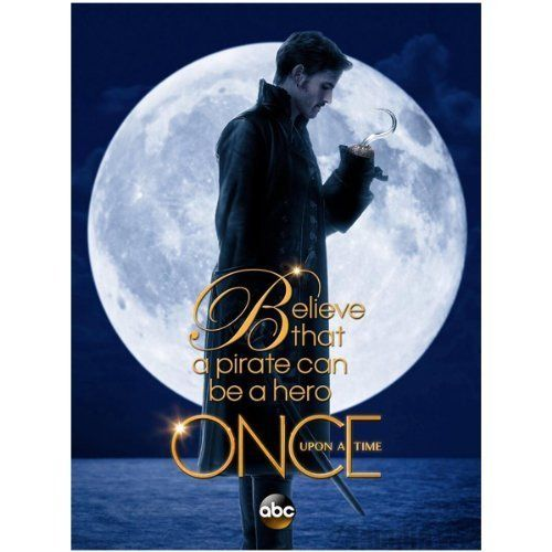 Once Upon a Time Colin ODonoghue as Captain Hook Believe that a pirate can be a hero 8