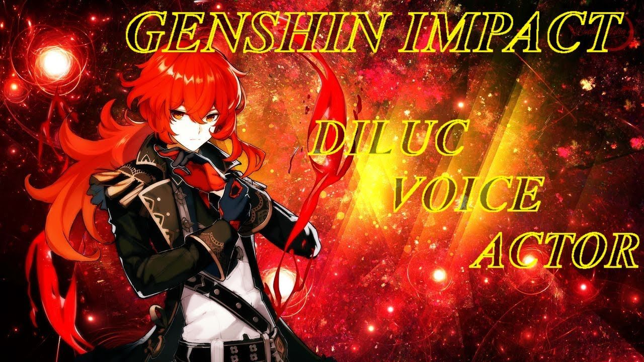In addition, he is quite respectful towards anyone he meets, even robots. Genshin Impact's Diluc English Voice Actor | Voice actor ...