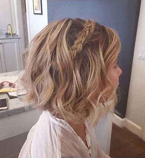 Peinados para novias con el cabello corto