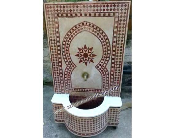 Fontana marocchina zellige e tadelakt pinterest