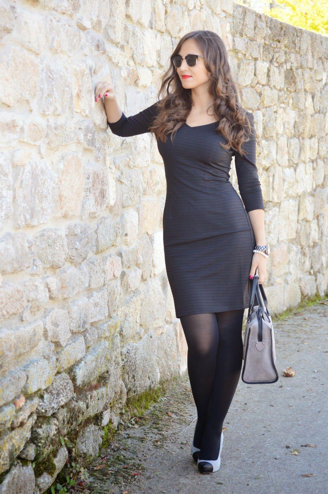 1000 Maneras De Vestir Robert Pietri Dress With Stockings Fashion Tights Tight Dresses [ 1600 x 1064 Pixel ]
