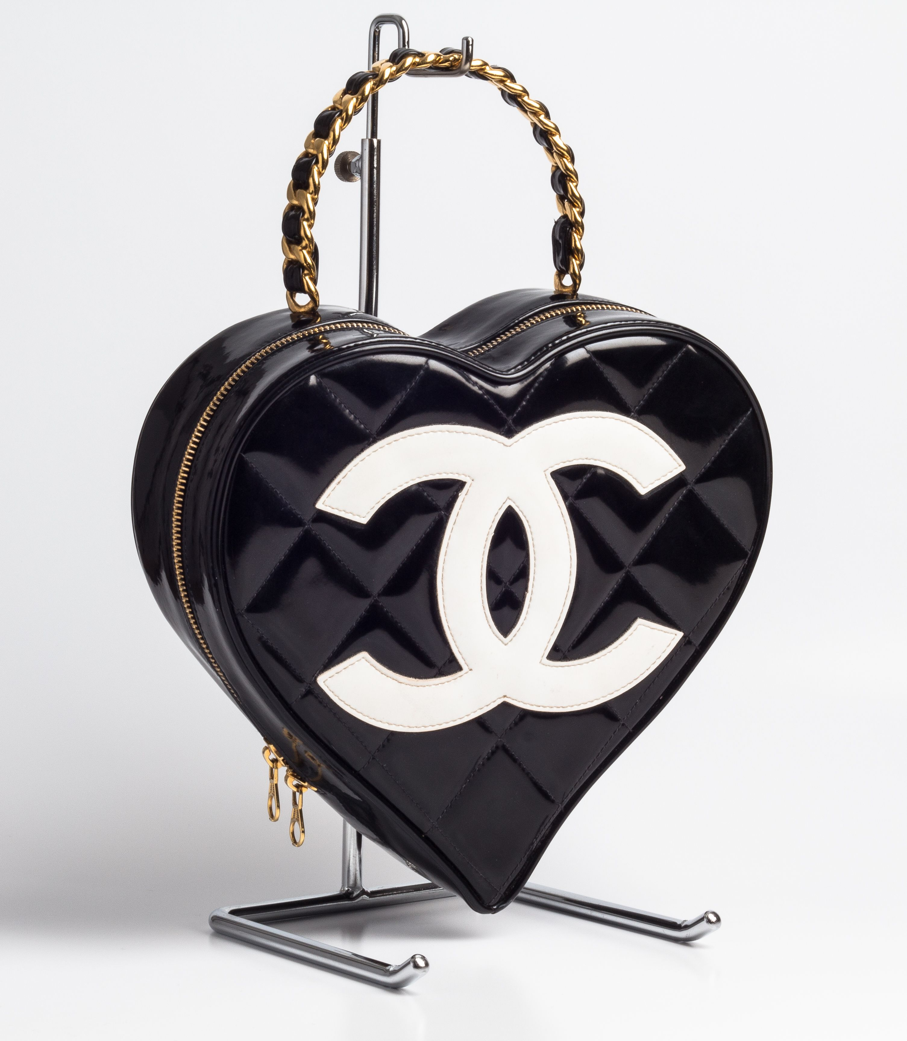 96586083bdf1 Vintage Chanel Heart Bag Limited Edition Sold in June 2013 | CHANEL ...