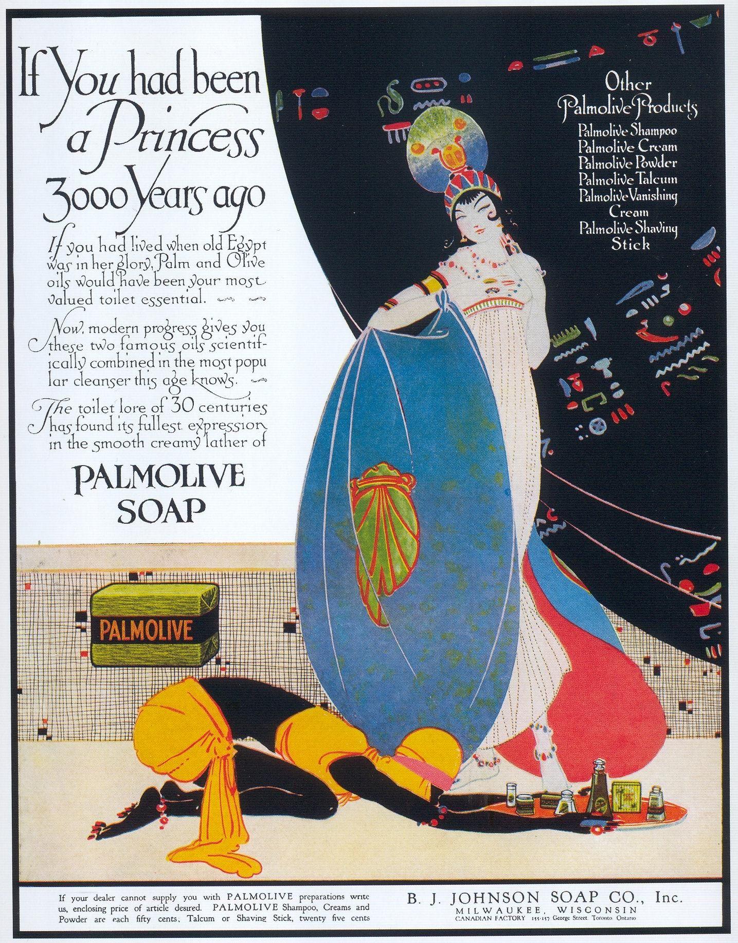 Palmolive Soap 1916 With Images Vintage Ads Vintage