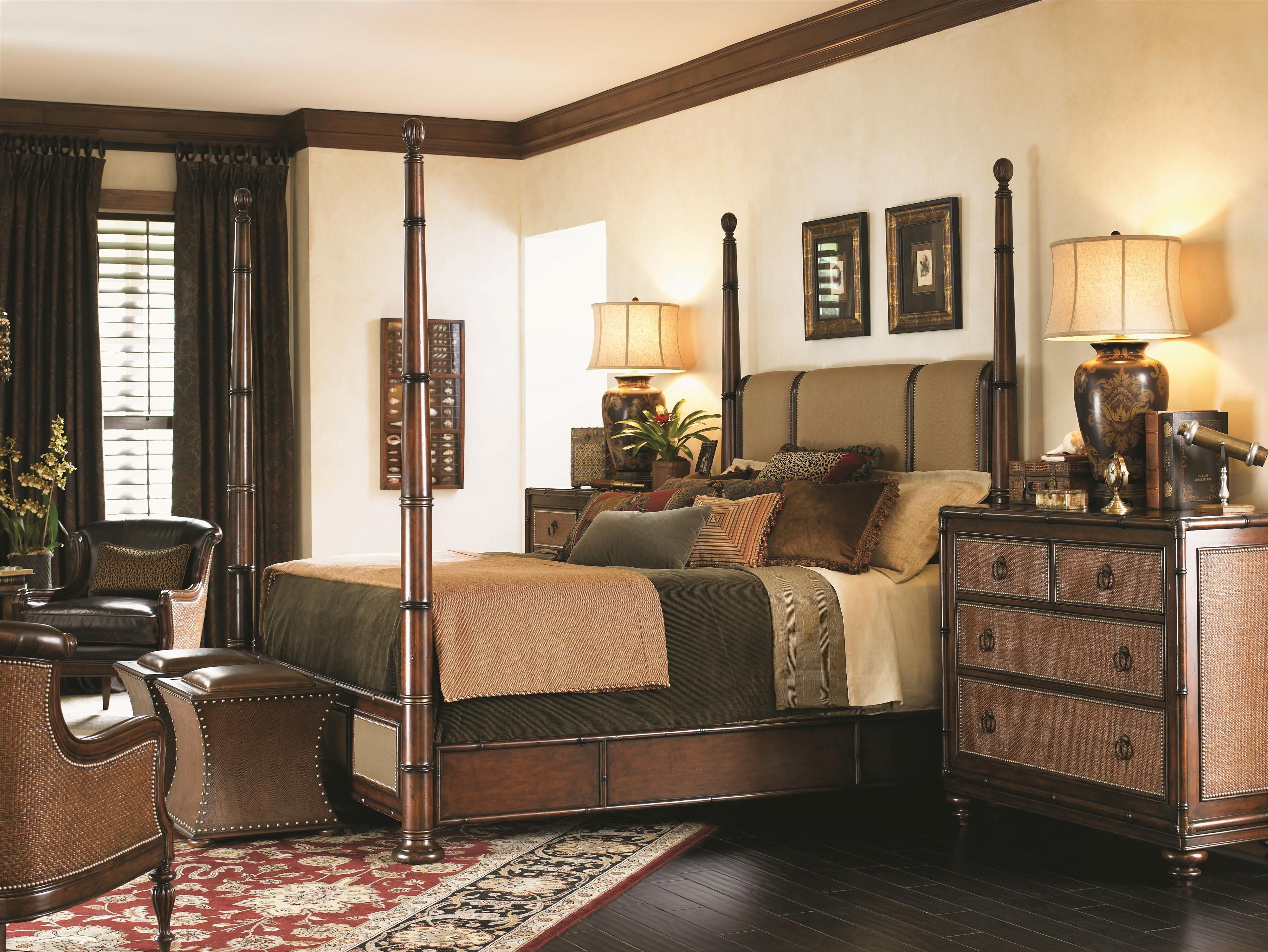 Tommy Bahama Bedroom Decorating Ideas - Bedroom |