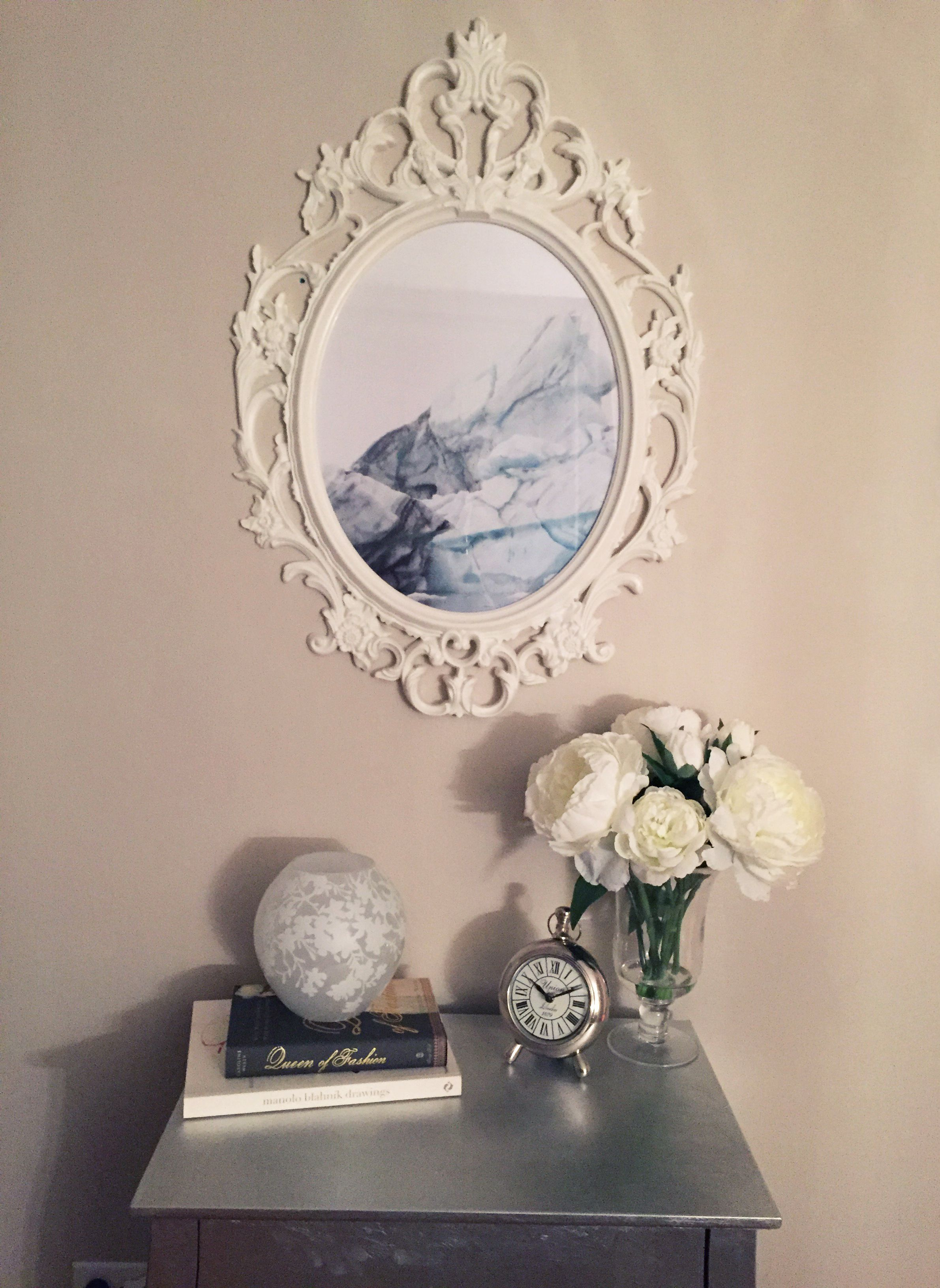 Ikea Ung Drill frame, Ikea cherry blossom lamp | My apartment <3 ...