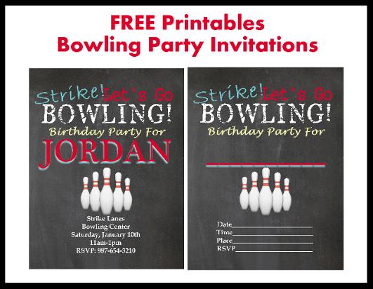 customized birthday invitations free printable