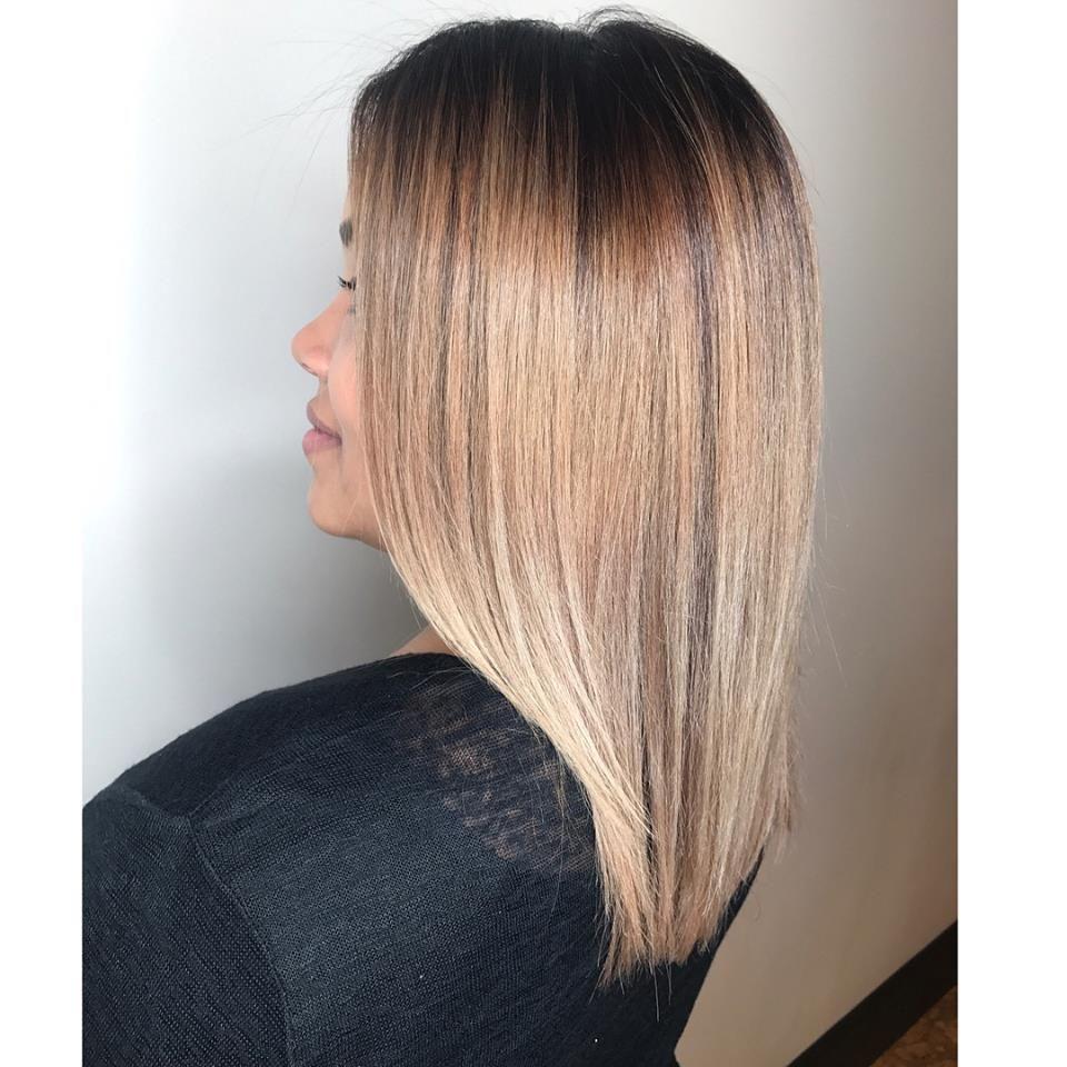 Blonde Hair #salonedenofraleigh Follow her on instagram @joemaryrodriguezhairstylist