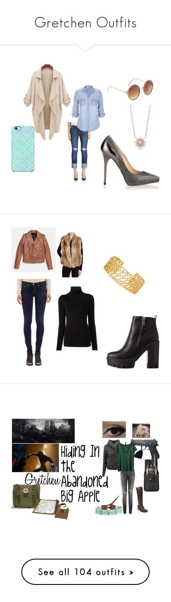 """""""Gretchen Outfits"""" by welcometoweirdschool on Polyvore featuring Kensie, maurices, Uncommon, BCBGeneration, Jimmy Choo, women's clothing, women, female, woman and misses"""