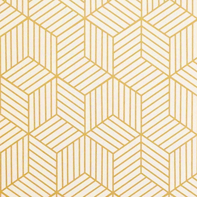 Amazon Com Teal Contact Paper Teal Peel And Stick Wallpaper Decorative Wallpaper For Cabinets Self Adhes Gold Striped Wallpaper Drawer Liner Striped Wallpaper