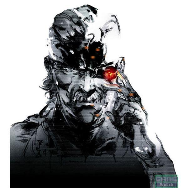 Metal Gear Solid Drawings A Yoji Shinkawa Gallery Metal