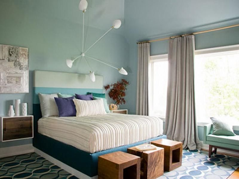 Awesome Cool Color Schemes For Master Bedroom