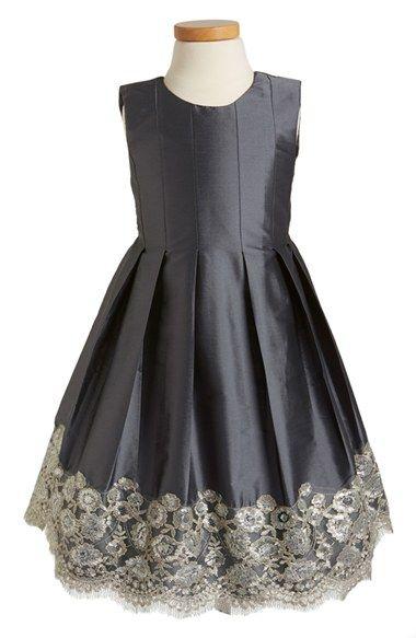 86238b1bacb Isabel Garreton Floral Lace Pleated Dress (Toddler Girls