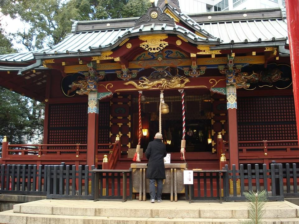 Happy New Year everyone! Hatsumode is the first Shinto