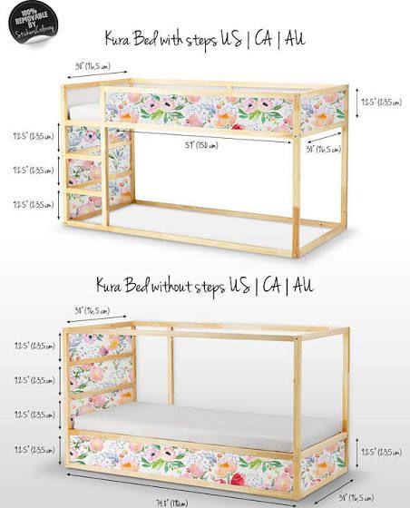 Ikea Toddler Bed Kura Kid Room Decor