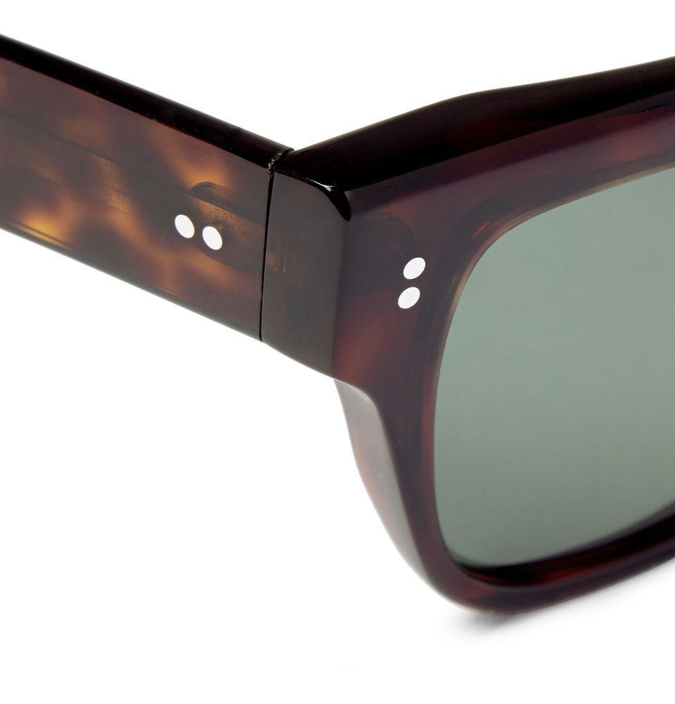 1cc76562ff Kingsman - Cutler and Gross Tortoiseshell Acetate Square-Frame Sunglasses