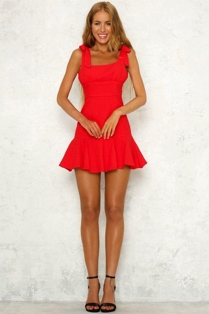 Losing Grip Dress Red | Red dress, Red dress short, Dresses