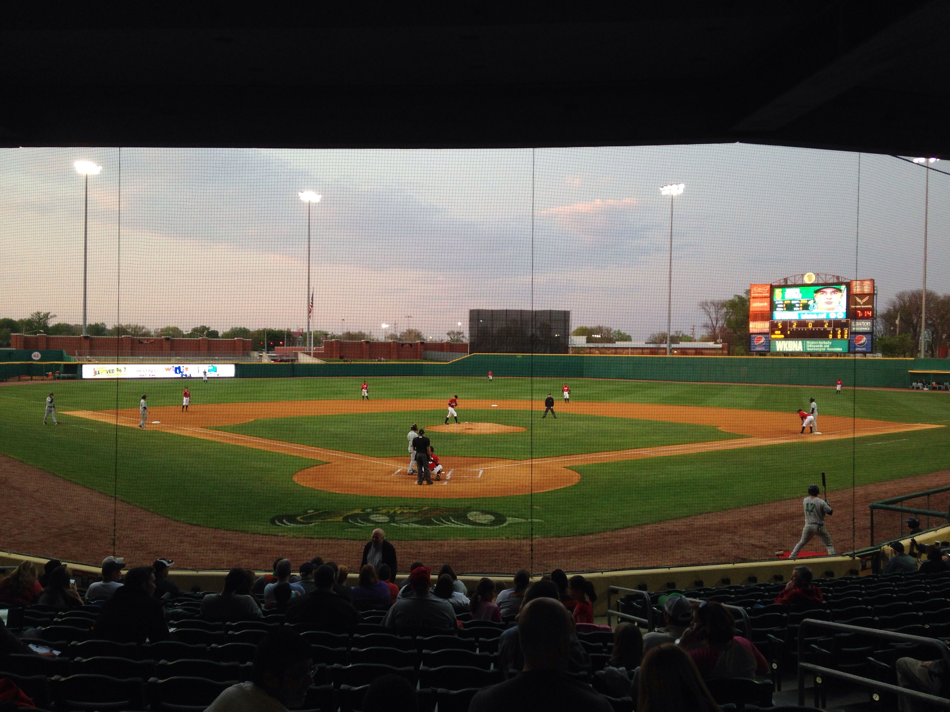 Bowling Green Ball Park Bowling Green Hotrods Baseball Stadium Minor League Baseball Ballparks