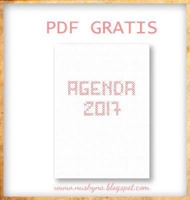 Agenda 2017 para imprimir gratis free printable - Agenda imprimible 2017 ...