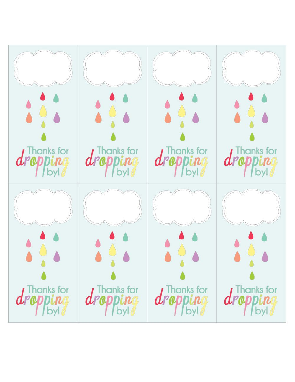 Shower of love free april showers party printables free in continuation of our april showers baby shower since it is my birthday month i decided to share all the party printables from this event as my gift to negle Images
