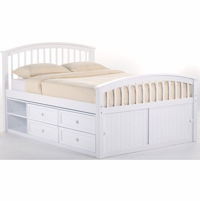 School House Captain Bed Full Size In White 707x Ne Kids Captains Bed Bed With Drawers Underneath Full Bed With Storage Full size bed with drawers underneath
