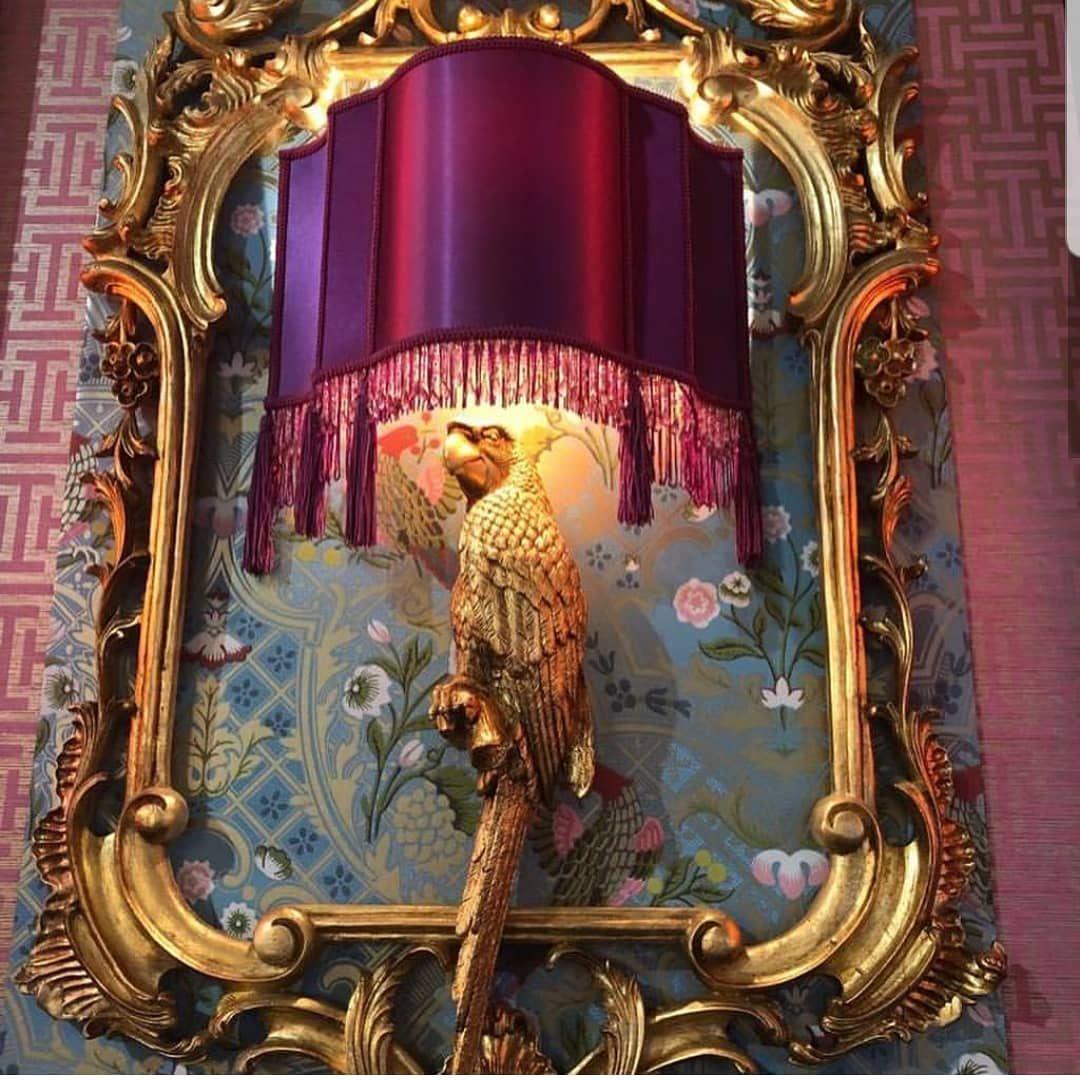 Beautiful interiorart by @mariemartin_gold  Very creative Dutch designers. Credi... #lampdesign #lampdesigns #lampinspiration #lampshades #mariemartin_gold #milandesignweek2019 #walllamp