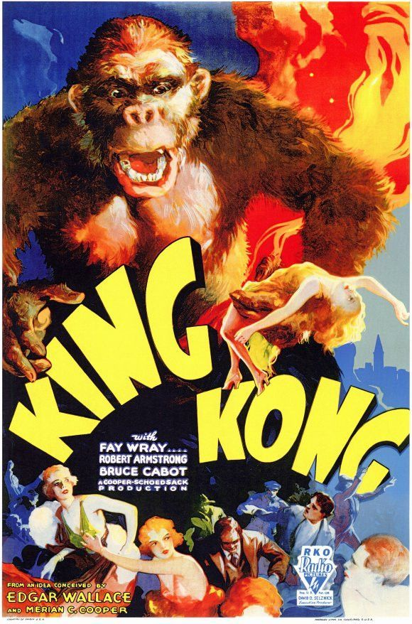 King Kong 11x17 Movie Poster (1933)