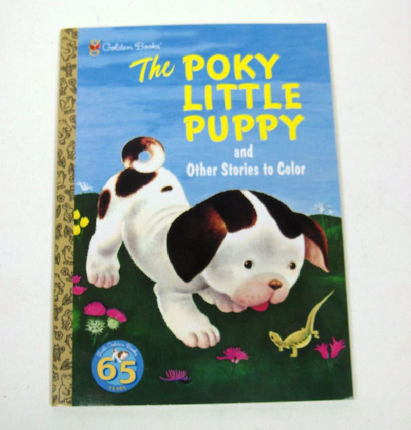 the poky little puppy coloring book 95 page