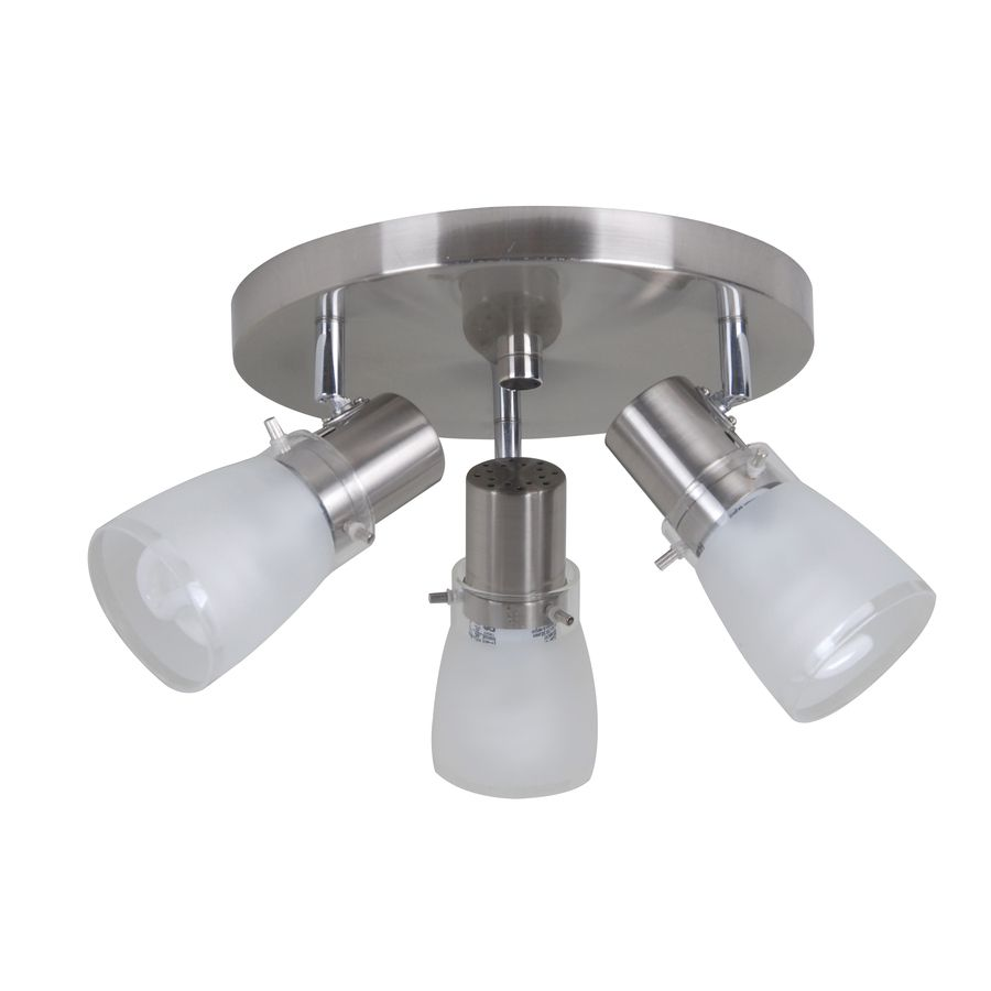 Bought For Kitchen Portfolio Light In Brushed Steel - Brushed steel kitchen ceiling lights