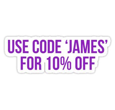 Use Code James For 10 Off James Charles Sticker By Cultclothing James Charles James Charles