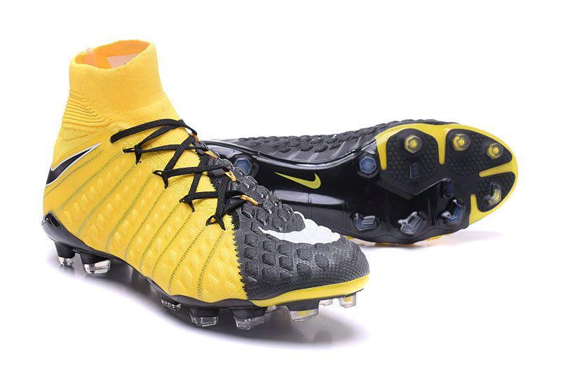 4d7a65f21 News Nike Hypervenom Phantom 3 DF FG Boots Yellow Black | Shoes soccer.