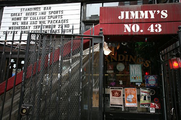 Jimmy's No. 43 Beer education, New york city travel, New
