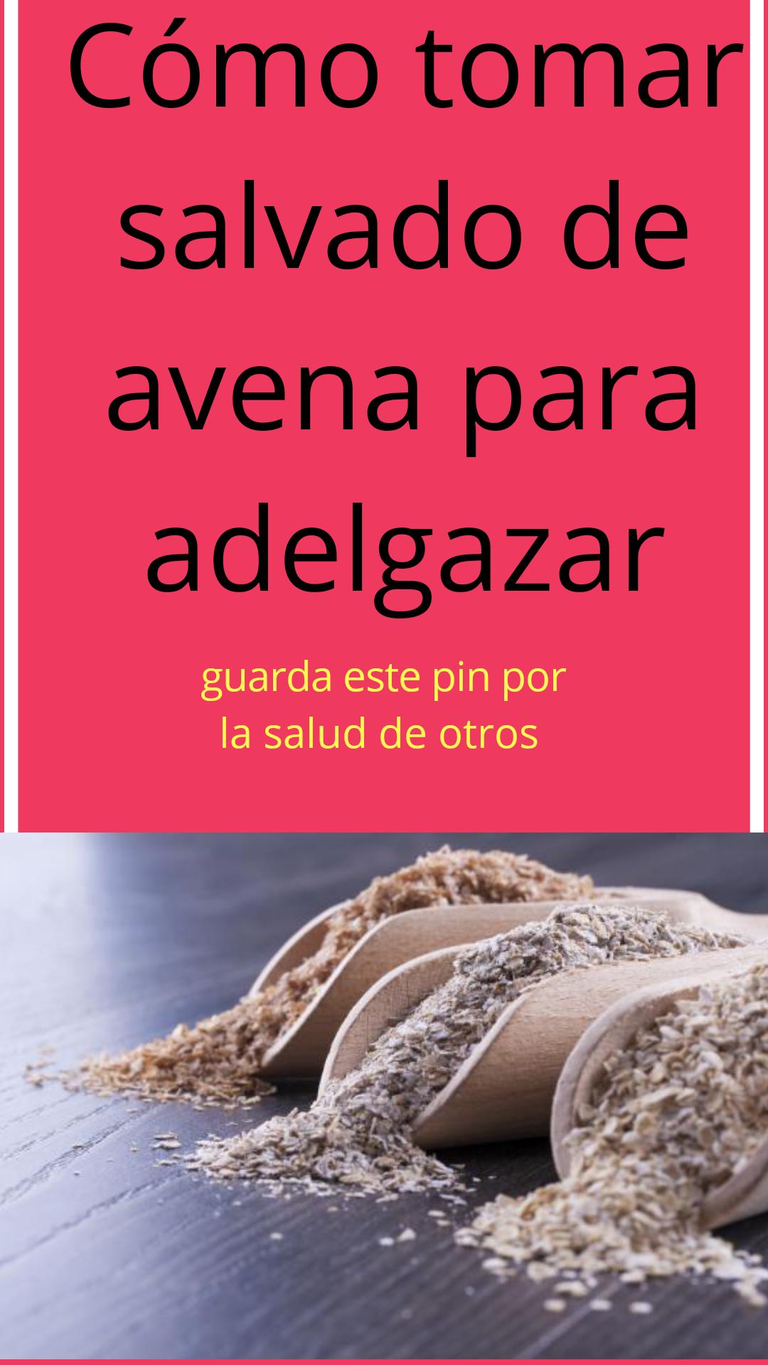 recetas salvado de avena para adelgazar