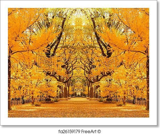 Free art print of Central Park Autumn #autumninnewyork
