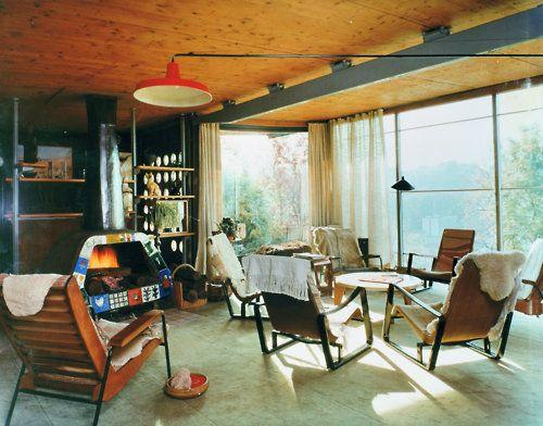 Maison de jean prouv nancy gissler interiordesign living rooms interior house design - Maison de jean prouve ...