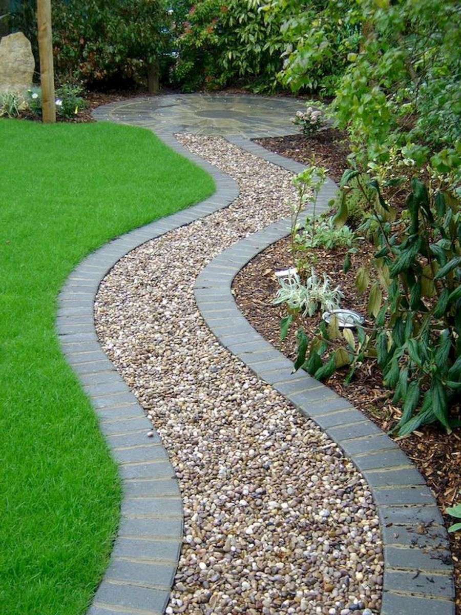 Photo of 70 Magical Side Yard And Backyard Gravel Garden Design Ideas (70) #FrontHomeLand…