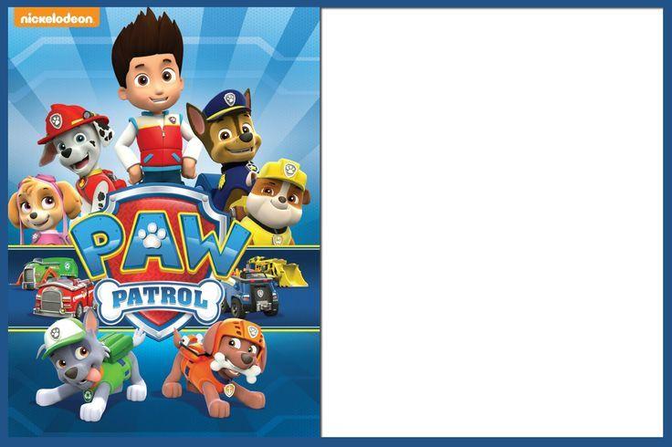 Paw Patrol Frame Google Search Paw Patrol Party