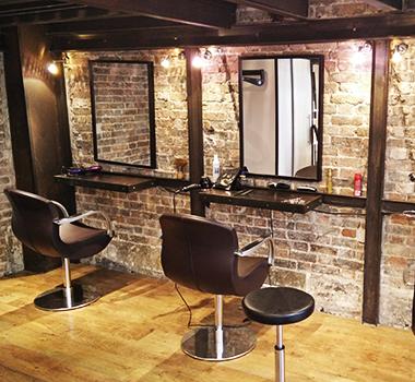 décoration chic et urbaine au salon de coiffure Mya Isaï à