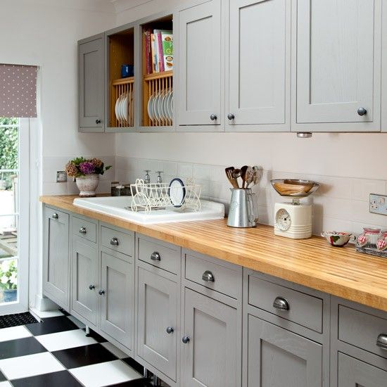 Classic Dresser Check Out This Grey Country Kitchen Housetohome Co Uk