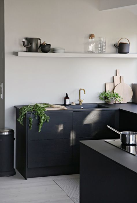 Kücheninspiration bold matt and of for great design black and white modern
