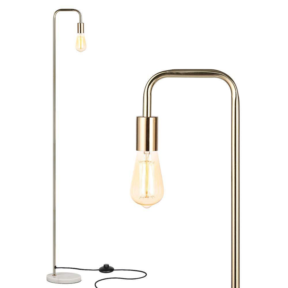 Haitral Industrial Floor Lamp Tall Standing Floor Lamp Reading Desk Lamp For Living Room Bedroom Office In 2020 Tall Floor Lamps Floor Lamp Floor Standing Lamps