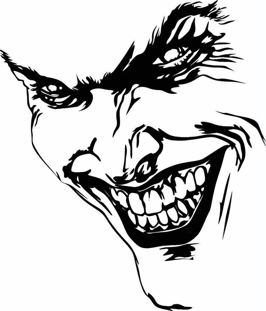Joker Sticker Free Vector Cdr Download 3axis Co Joker Face Joker Drawings Joker Face Tattoo [ 1024 x 876 Pixel ]