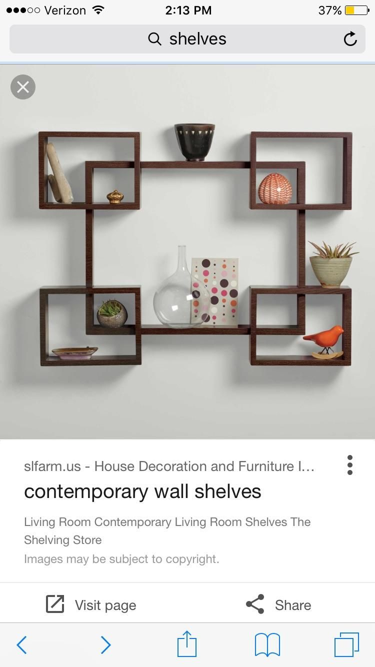 How Would You Mount Something Like This To The Wall Construction Seems Easy But Mounting Looks Like Decorating Shelves Unique Wall Shelves Wooden Wall Shelves