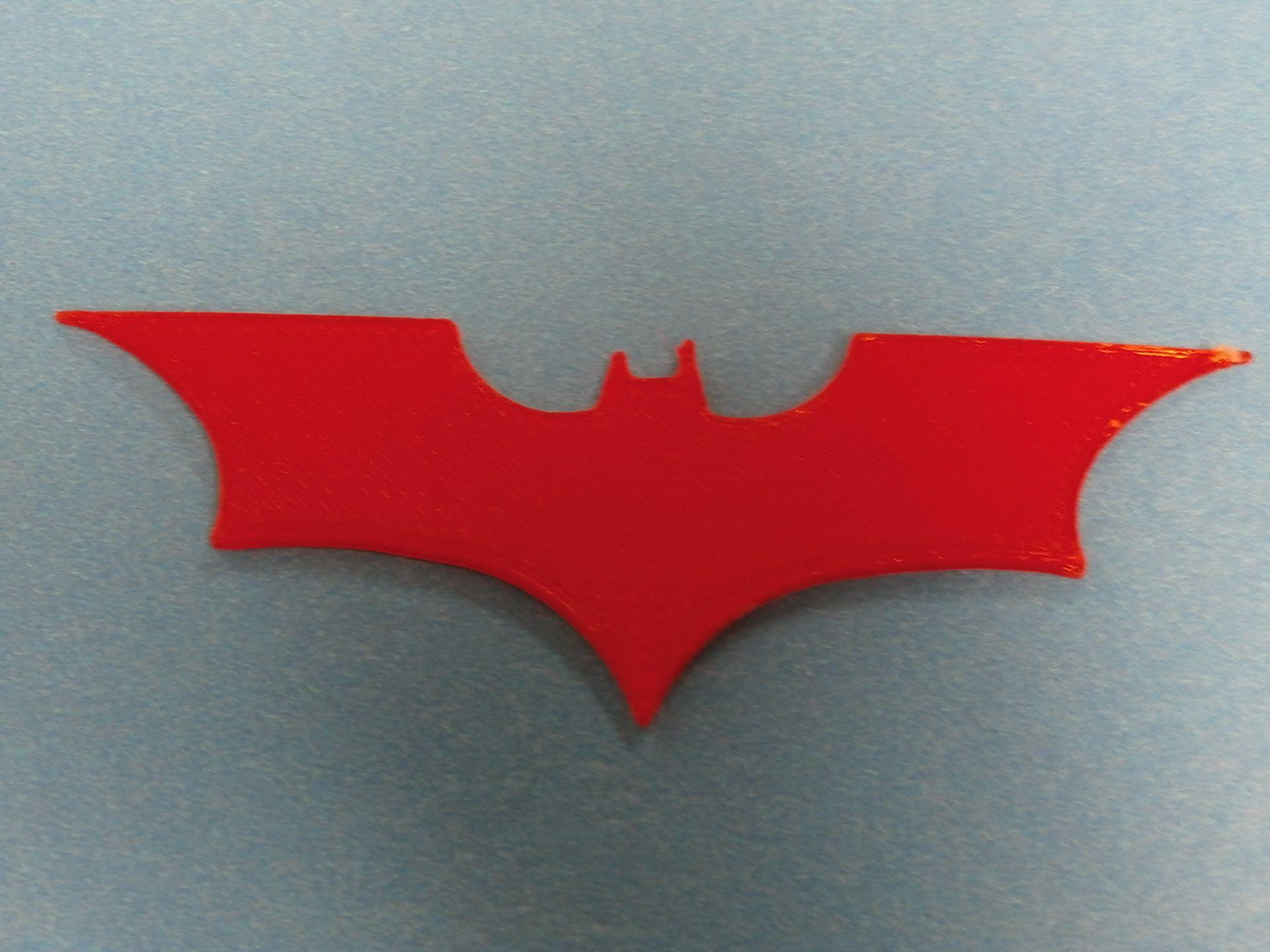 3D Printer Bat Signal