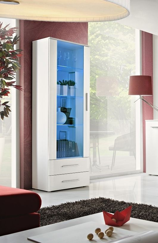 Telia One Tall Cabinet In 2020 Living Room Wall Units